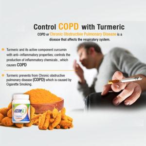 Curcumin for COPD.